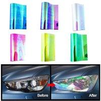 12 x 47 Zoll Auto Auto Lichtscheinwerfer Taiselight Tint Vinyl Film Aufkleber DIY Auto Stick Farbe Automobilscheinwerfer Schutzfolie