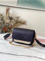 جديد arrivel مصمم حقيبة فاخرة Lockme العطاء حقيبة M58557 L زهرة نمط محفظة أكياس الأزياء الكتف محفظة حقيبة الأزياء حقيبة
