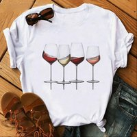 Summer Vintage Fashion Chic Casual Women Shirt Korean Style Print Basic Elegant Loose Blouse Bottoming All Match Tops Streetwear