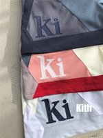 21SS Kith Kith Mess Shorts Men Mujeres 1: 1 Patchwork de alta calidad de gran tamaño Trazores transpirables