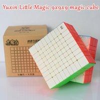 Yuxin Little Magic 9x9x9 매직 큐브 9x9 스피드 큐브 9x9x9 Puuzle 큐브 경쟁 큐브 Cubo Magico