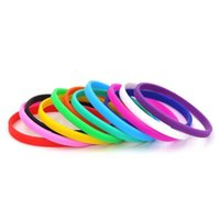 5 piezas mezcla color aptitud pulsera caucho silicona masculino niños pulsera para niños para hombre regalo joyería brilla en la oscuridad