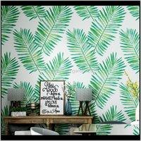Tapeten nordic stil tapete ins südostasien japanische banane blatt tropisch regenwald pflanzen wohnzimmer schlafzimmer fernseher hintergrund irrab