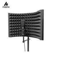 Accesorio de condensador de espuma de absorción de alta densidad plegable de micrófono de estudio para micrófonos de grabación de sonido de panel