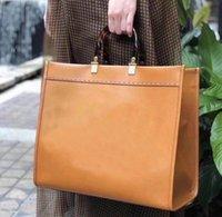 40 cm moda marrom womens handbags f saco sacos sacos de compras ff saco sunshine grande marron totes f8pe #
