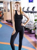 Yoga Outfit Shirt Sport Running High Elasticity Vest Quick Dry Tight Fitting Fitness Women Girl Gym Clothing Bodybuilding T