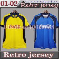Top Quality Retro Soccer Jersey 01-02 R.Sambuza P.Aguilar Camisa Vintage Mexico Futebol MX Club América 2001/2002