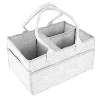 Storage Bags Baby Diaper Caddy Portable Foldable Durable Nursery Essentials Basket Bin And Car Organizer For Wipes Toys Changing Pad