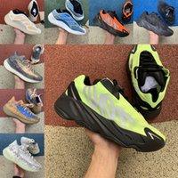 مصمم 700 V2 الرجال النساء الاحذية عداء الصلبة الرمادي الجمهوري mnvn أورانج الفوسفور التناظرية الكربون الأزرق ثابت المدربين الرياضة أحذية رياضية