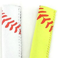 Popsicle Holder Neoprene Sport Pop Bag Rectangle Popsicle Mould Sleeves Holder Lily Baseball Rugby Ice Cream Cover LLE7568