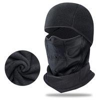 사이클링 캡스 마스크 Zomake Winter Ski Mask 옥외 방풍 모자 비아 유니섹스 오토바이 Balaclava 전체 얼굴 목 스카프 모자 Chapeau