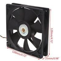 Fans Refrigeraciones 120x120x25mm sin escobillas DC12V 0.80A Fan de enfriamiento de 7 cuchillas 12025 para Delta AFB1212SH