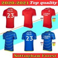 S-2XL 20 21 Nottingham Forest Soccer Jerseys Lolley Grabban Watson Cash Silva Ameobi كرة القدم قميص