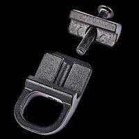 Accesorios de acero del adaptador de la placa de montaje del montaje de la cabrina de GBB de acero para 20 mm Picatinny Color Black Hunting Accesorios