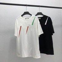20sS Männer T-shirt Designer Buchstabe Print Crew Hals Casual Summer Atmungsaktive Herren Womens T-Shirts Solide Farbe Tops Tees Großhandel D4FM #
