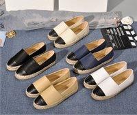 Fabrika Doğrudan Satış kadın Espadrilles Bayanlar Rahat Ayakkabılar Flats Bahar Sonbahar Moda Gerçek Hakiki Deri Loafer'lar Slip-On Platformu Ayakkabı Büyük Boy 34-42