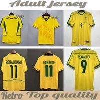 88 00 70 04 Brasil Soccer Jerseys 02 Retro Camisetas Carlos Romario Ronaldo Ronaldinho 2004 Camisa de Futebol 1994 Brasils 2006 1982 Rivaldo Adriano