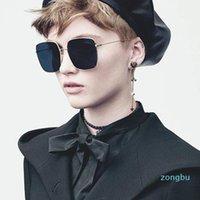 2021 Novos Óculos de Sol de Estela de Verão Mulheres Marca Designer Steampunk Ornamental Moda Homens Sunglasses Envoltório Piloto Pilot Square óculos de sol