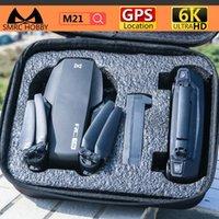 Drones SMRC M21 Drone 6K Caméra vidéo 5G WIFI 4K GPS Kit RC Kit RC Jouets pour Garçons UFO Plane Cadeau