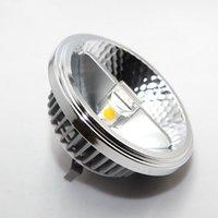 Haute qualité super brillant AR111 15W COB LED Downlight QR111 G53 GU10 GU10 Lampe dimmable AC110V / 220V / DC12V Downlights