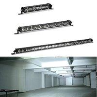 "Arbeitslicht Super Slim LED Bar Single Row 7 ""13"" 20 ""Zoll 18W 36W 54W Spot Flut für SUV 4x4 Off Road Work Lampe 12V 24V"