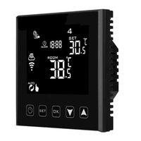HY603 -2 -2OFI TELECOMANDO TELECOMANDO NERO ELETTRICO A POTTORE ELETTRICO Riscaldamento e Pannello a infrarossi Digital WiFi Termostato Smart Home