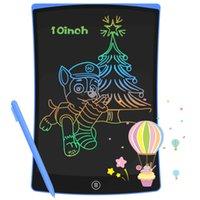 10 بوصة لوحة شاشة lcd الكتابة اللوحي الرسم الرقمي الرسم الرسم الإلكترونية لوحة اليد لوحة + القلم
