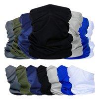 Cycling Caps & Masks Outdoor Sport Bandana Camouflage Scarf Fishing Tactical Hiking Elastic Cover Neck Gaiter Bike Face Headband Men