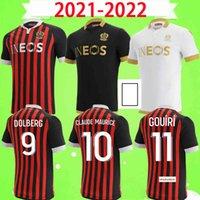 Maillot de Foot 21 22 OGC Güzel Futbol Formaları 2021 2022 Ev Uzakta Üçüncü Lemina Kluivert Stengs Todibo Lees Melou Gouiri Dolberg Dante Kamara
