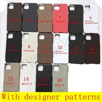 Designer Phone cases for iphone 13 pro max 12 Pro Max 12 mini 11 XR XS Max 7 8 plus PU leather Phone shell for samsung S8 9 10 S20 S9 S10 PLUS NOTE 20 10 S21 Y03