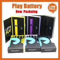 플러그 재생 배터리 최신 패킹 블랙 퍼플 옐로우 레드 실버 500mAh 상자 개조 1.0ml 빈 vape 포드 exotics 510 두꺼운 오일 카트리지 대 enzo 배터리