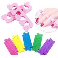 10 pçs Espuma Nail Art Toes Separadores Dedos Divisores Fims Esponja Gel Macio UV Ferramentas de Beleza Polonês Manicure Jllxzi