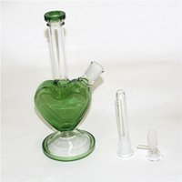 heart shape hookahs glass bong bowls slide for water pipes and bongs smoking bowl joint size 14mm quartz bangers male
