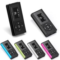 Mini MP3 Player Music Media LCD Screen Support 16GB Micro SD TF Card Portable Fashion Sport Walkman In Stock D & MP4 Players