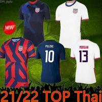 2021 US Soccer Jersey Pulisico Yedlin Bradley Girl Shirt Stati Uniti Uomo Donna Legno Dempsey Altidore Calcio uniforme