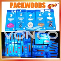 Packwoods Tube PREROLL JUNTO Paquete Bolsa de embalaje de hierbas secas Botellas de plástico Tubos de silicona Tubos Caja de regalo Tubos transparentes Contenedor de cera 11.7 * 12.7cm 6 Pegatinas Runtz