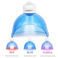 3 Color LED PDT Light Facial Mask Skin Care Photon Therapy Machine Facemask Rejuvenation Tightening Hydroge Oxygen Acne Treatment Wrinkle Removal