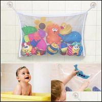 Storage Housekee Organization Home & Gardenstorage Bags Children Baby Toy Bathtub Suction Cup Mesh Bag Bathroom Tidy Organizer Net Shower Or