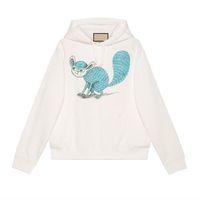 100% algodão de alta qualidade Hoodie Mens Skates Sweatshirts Manga Longa Camisas Mulheres Hoodies Primavera Outono Moda Roupas Impresso Carta Amantes Casuais Camisola S-L