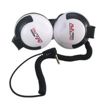 Arrival White UR30 Metal Detector Headphone For Underground Detectors