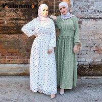 KALENMOS Ramadan Eid Mubarak Abaya Turkey Hijab Muslim Dress Islamic Clothing for Women Dubai Kaftan Oman Robe UAE Para Mujer1
