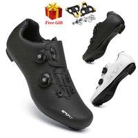 2021 Summer Mountain Bike Shoes Cycling Sneakers Mtb Men Road Speed Racing Women Bicycle Shoe Spd Cleat Flat Sport