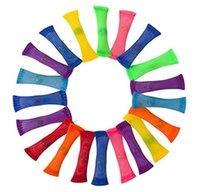 Tubo de brinquedo de mármore de mármore festa para adultos crianças na escola adhd adicionar mármores de ansiedade de ocd e malhas dedo fidgets