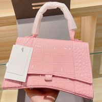 2021 Frauen Handtaschen Lady Shopping Tasche Big B Classic Krokodil Muster Kreuz Body-Bag Dame Mode Handtasche Kreuzkörper-Tasche Luxus Designer Damen Umhängetaschen