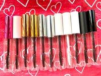 Storage Bottles & Jars 10 50 100pcs 10ml Transparent Eyelashes Split Vials Cosmetic Clear Mascara Tubes Makeup Eyelash Cream