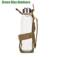Stuff Sacks Outdoor Molle Water Bottle Pouch Tactical Army Training Drinking Holder Kettle Accessory Bags