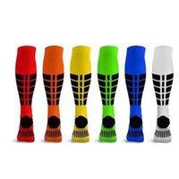 Calcetines de compresión Equipo de ciclismo para hombres Deportes Mujer Medias Fútbol Corriendo Baloncesto Rodilla High Sock