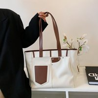 Simple Casual Women's Bag 2021 Summer Style Large-Capacity One-Shoulder Underarm Bags Fashion Trendy Totes