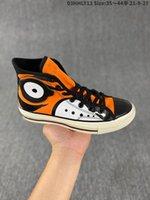 Notizie Prodotti 2021 Scarpe da ginnastica casual Black Arancione Scarpe in tela arancione Taglio alto con Pechino Special Cotton Molle Scarpa da uomo Allenatori Donne da uomo 35-44