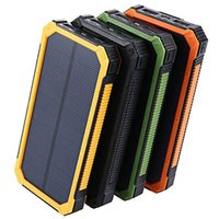 20000mAh Solar Powerbank per Xiaomi OPPO LG Power Bank Caricabatterie batteria portatile carica mobile doppio USB